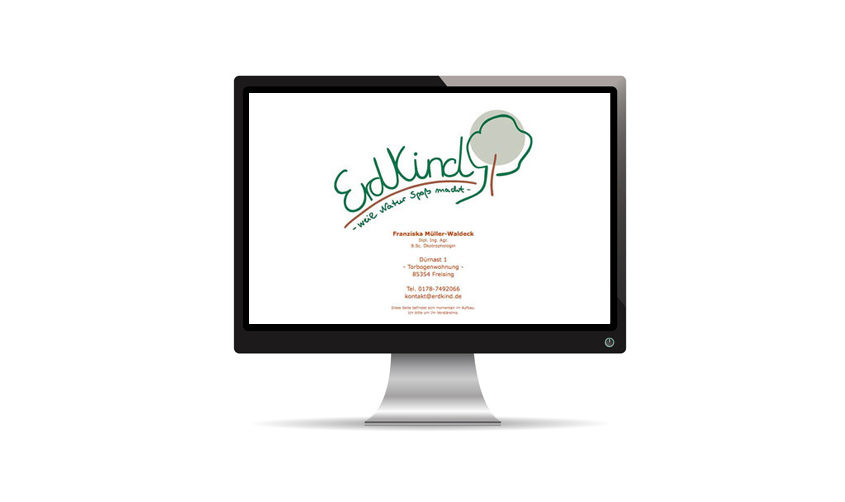 Erdkind Website