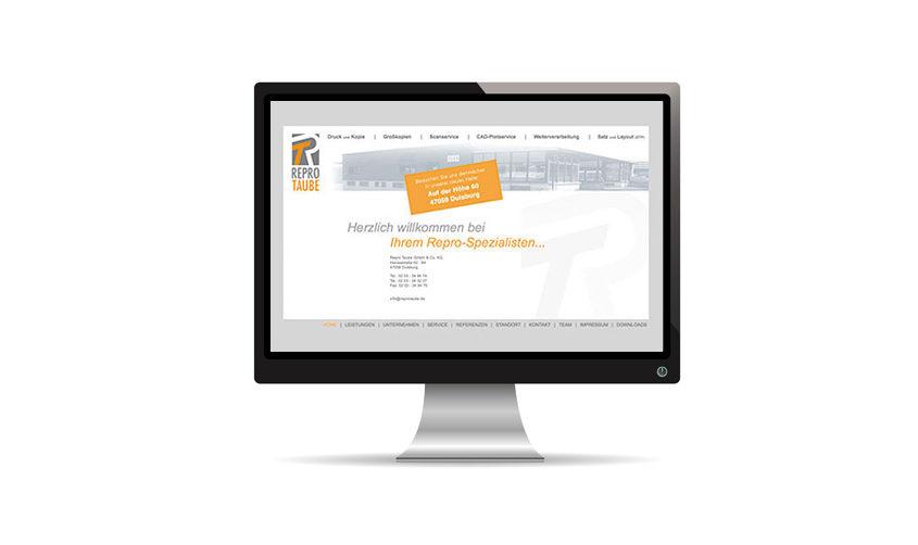 Repro Taube Website