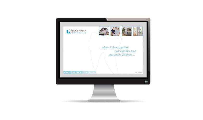 Zahnarztpraxis Silke Roesch Website