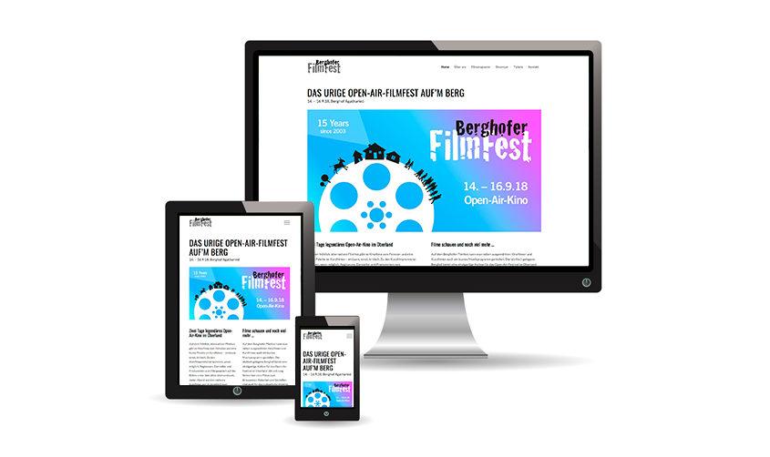 berghofer filmfest Website