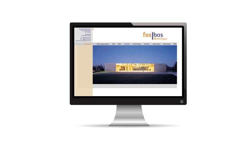 FOSBOS Memmingen Website