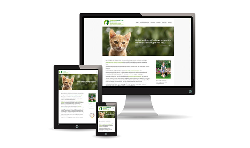 Tierheilpraxis Miesbach Website